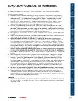 15 condizioni generali di fornitura